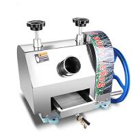电动不锈钢甘蔗榨汁机商用不锈钢手摇甘蔗机手动甘蔗压榨机