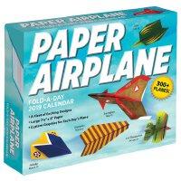 【现货】英文原版 纸飞机2019年日历 每天一页折纸 创意飞机设计 Paper Airplane Fold-A-Day