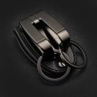 男士穿套皮带式钥匙扣/双层腰挂汽车钥匙锁圈/个性节日礼物SN1428