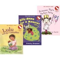 Little Red Robin Get ready to read 学乐小红知更鸟系列 3册套装 全彩桥梁书 情节精彩