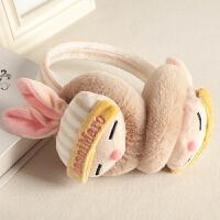 耳包男女童宝宝冬季可爱耳套保暖耳罩耳捂毛绒耳暖护耳朵罩卡通兔