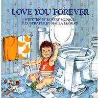 英文原版 Love You Forever 永远爱你 精装版 蒙施爷爷代表作 吴敏兰书单 Robert Munsch