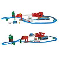 【当当自营】托马斯和朋友电动系列之竞速飞跃轨道套装 儿童益智玩具 DFL93