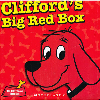 Clifford's Big Red Box 大红狗故事集10本套装ISBN9780545560252 ISBN9780545560252