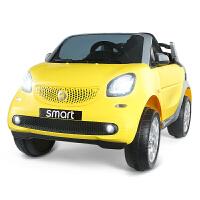 童车电动四轮汽车儿童宝宝电动车遥控可坐人奔驰女孩双驱动1-3岁