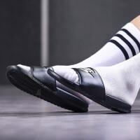 NIKE耐克男鞋拖鞋2017夏季权志龙休闲运动潮流一字凉鞋343880
