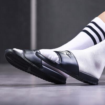 NIKE耐克男鞋拖鞋夏季权志龙休闲运动潮流一字凉鞋343880 活力出游!满199-10!满300-40!满600-80!