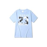迈克尔篮球乔丹头像印花T恤 纯棉男女短袖T恤欧美风格