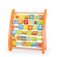 儿童玩具 智力开发拼音学习玩具积木板宝宝儿童早教益智礼盒装生日礼物 小鹿字母板