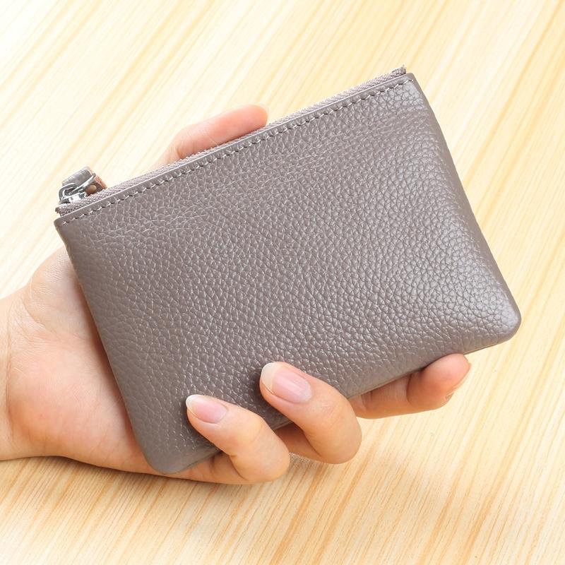 零钱包女 迷你 可爱 韩国零钱袋硬币包小方包真皮短 6_大象灰 一般在付款后3-90天左右发货,具体发货时间请以与客服协商的时间为准