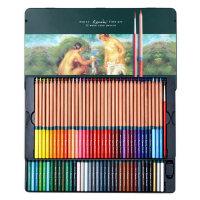 马可美术设计雷诺阿手绘水溶性彩色铅笔24/36/48/72色