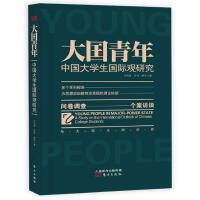 正版 大国青年 中国大学生国际观研究 与大学生面对面 问卷调查 个案访谈 东方出版社