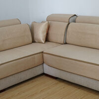 沙发垫夏季冰丝凉垫凉席全包坐垫套沙发笠定做全盖组合沙发套