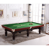 台球桌标准家用美式黑8台球案乒乓球桌二合一桌球台