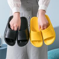 凉拖鞋女夏情侣夏天室内防滑洗澡家居浴室拖鞋男夏季家用厚底外穿
