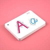 26字母学习卡片标准手写英语字母儿童学习卡片字母早教卡各种尺寸