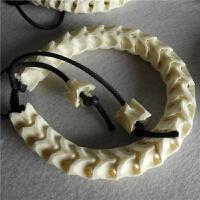 泰国进口蛇骨手链饰品女天然真蛇骨链男文玩佛珠手串