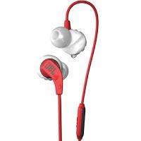 【当当自营】JBL Endurance Run 红色 入耳式有线运动音乐耳机耳麦 可通话绕耳式耳麦