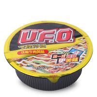 NISSIN日清UFO飞碟炒面铁板牛肉风味122g 碗装方便面泡面零食品