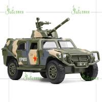 合金军事猛士战车装甲炮弹车两栖坦克声光回力仿真金属模型玩具车 军绿色 猛士战车绿色