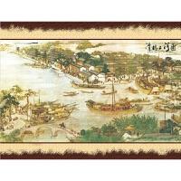 国画张择端 清明上河图港口拼图1000木质风景玩具装饰画