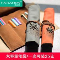 笔袋韩国女生小清新铅笔袋小学生文具袋男生高中大容量可爱笔袋