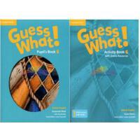 剑桥小学英语 Guess What! Level 6  学生用书+练习册 英音版