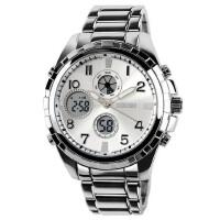 潮流时尚户外运动双显男士手表男学生多功能个性电子表腕表