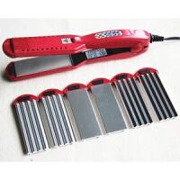 玉米烫卷发棒直发器夹板玉米须烫发器多功能换板内蓬松波浪卷