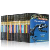 英文原版Magic Tree House Fact Tracker 38本神奇树屋小百科美国中小学科普课外阅读分阶巩固英语小说书籍5-8-10岁图书章节桥梁书