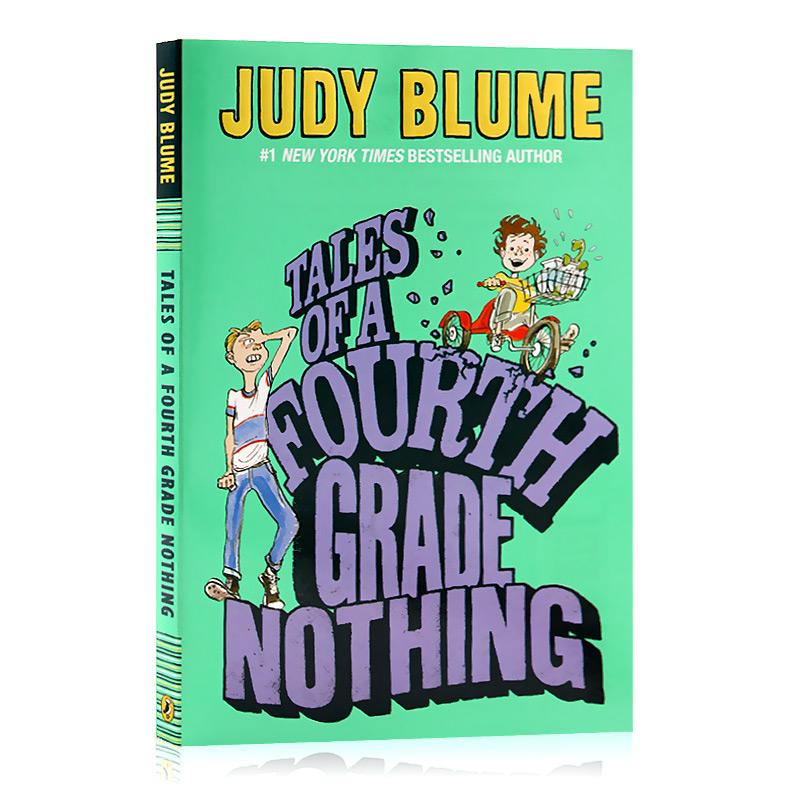 四年级的无聊事Tales of a Fourth Grade Nothing 英文原版小说 纽约时报畅销作者 Judy Blume课外兴趣阅读 Judy Blume课外兴趣阅读