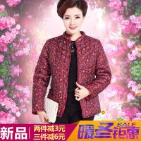 新款中老年女装贴身小棉袄 秋冬中年妈妈羽绒棉内胆保暖棉衣大码