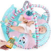 婴儿健身架器脚踏琴0-1岁带音乐玩具男孩女孩