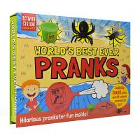 Activity Station World'S Best Ever Pranks 恶作剧整蛊套盒 儿童英语游戏手工活