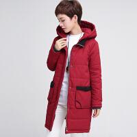 中年女装中长款棉衣冬装新款40-50岁妈妈装大码加厚棉袄外套