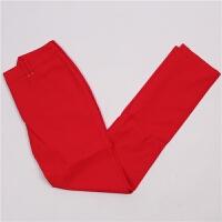 82码XXXL处理 E家 高尔夫长裤 春夏薄款 编号15 红色 XXX