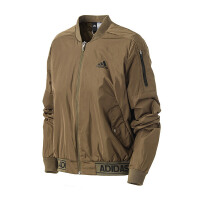 adidas阿迪达斯女子外套夹克飞行领休闲运动服BP6958