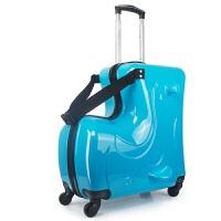 儿童行李箱可坐可骑拉杆箱小孩万向轮宝宝皮箱子卡通女旅行箱包男