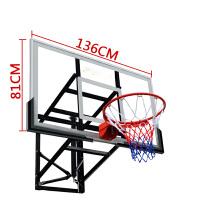 篮球架挂式户外标准篮球板家用室内投篮架子篮球框篮圈