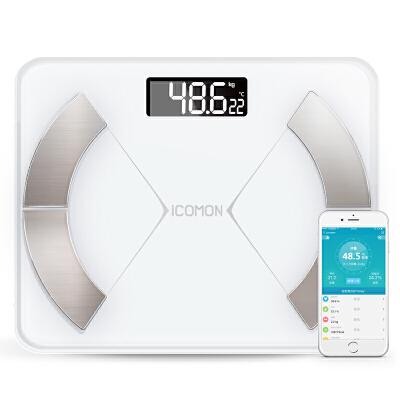 【支持礼品卡】智能体脂秤家用瘦身迷你精准女人体减肥称重电子体重脂肪平衡 2dm