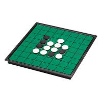 精品黑白棋休闲娱乐磁性棋子24mm 折叠翻转棋