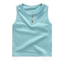 宝宝背心 女童无袖T恤童装男童夏季儿童上衣薄款 婴儿夏装