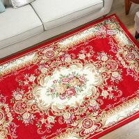 家纺 欧式地毯客厅茶几垫 卧室地毯床边长方形可机洗