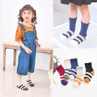 儿童袜 5双装儿童毛圈加厚宝宝袜 儿童袜子 1-3-5-9岁加厚袜子5双