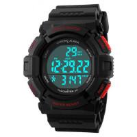 男士手表时尚户外运动防水电子表计步多功能男学生个性腕表