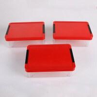 厂家直销阿胶糕PVC透明盒包装盒ejiao阿胶通用包装盒纯手工包装盒 +2号标签 20.7x13.7x7.4cm