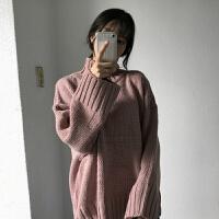 高领毛衣女装秋冬季新款2018韩版百搭套头上衣长袖针织打底衫学生