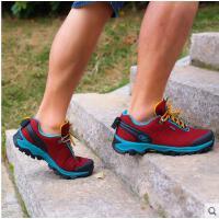 户外网鞋男休闲跑步鞋透气超薄登山鞋鞋轻便徒步鞋防滑 可礼品卡支付