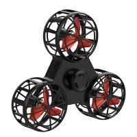 飞行指尖陀螺手指回旋飞行器飞机悬空会飞减压玩具抖音自电动旋转