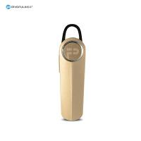 pivoful浦诺菲 金盾蓝牙PBH-501耳机 简约小巧 智能一拖二 立体声 金色